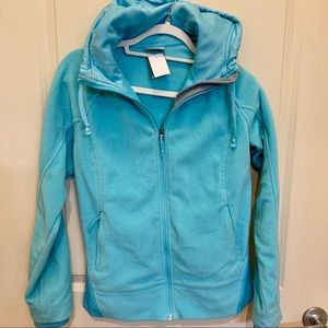 Columbia Aqua Blue Fleece